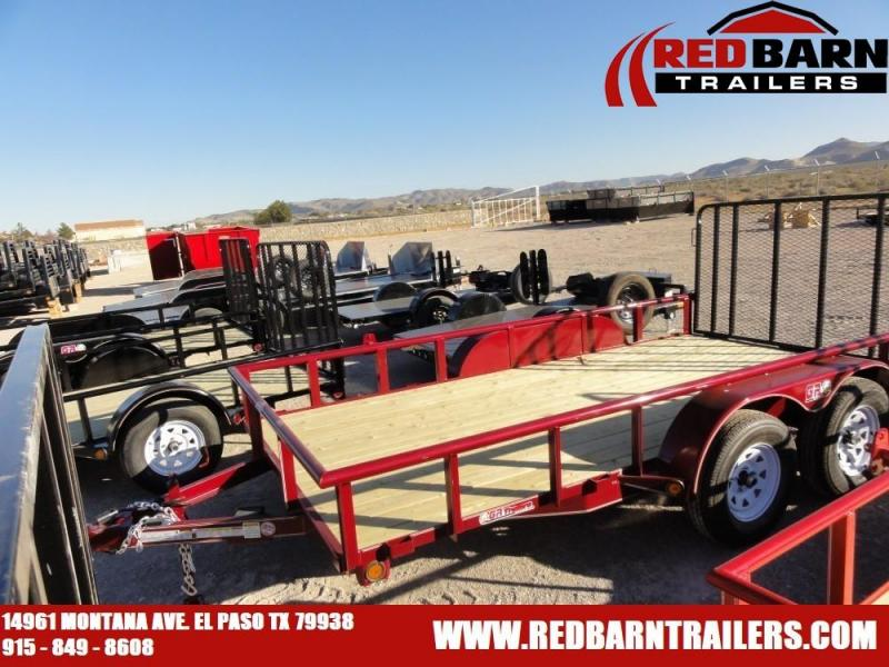 7 X 14 2019 GR Trailers UT7014WR07L Utility Trailer @RED BARN TRAILERS