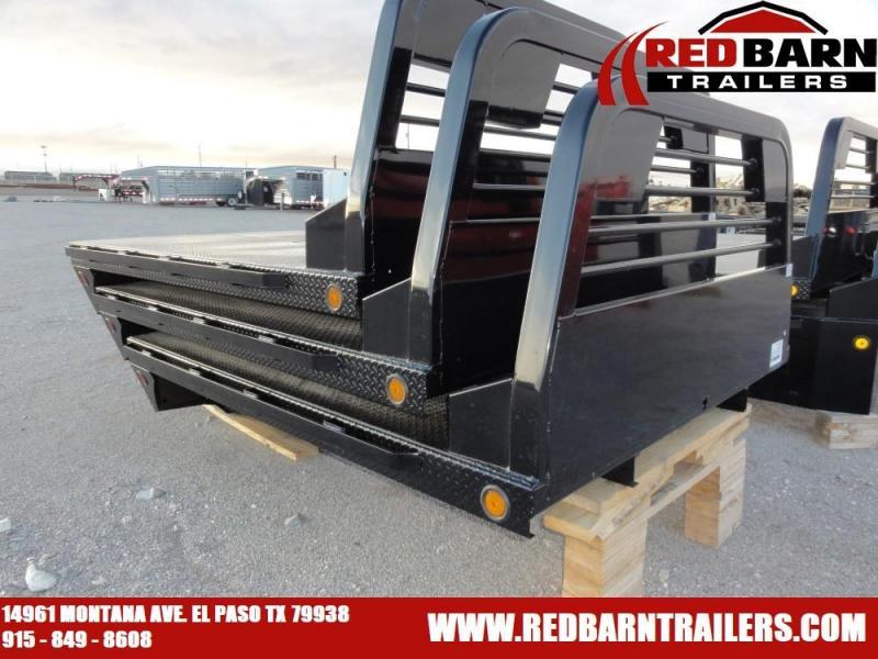 "84"" X 84' SR - Norstar Diamond Plate Flat Bed"