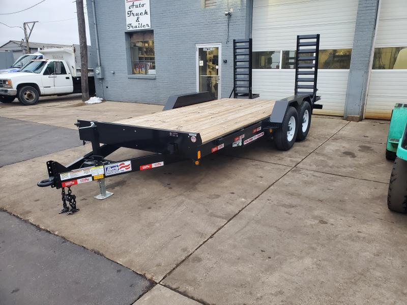 7'X16' EQUIPMENT TRAILER