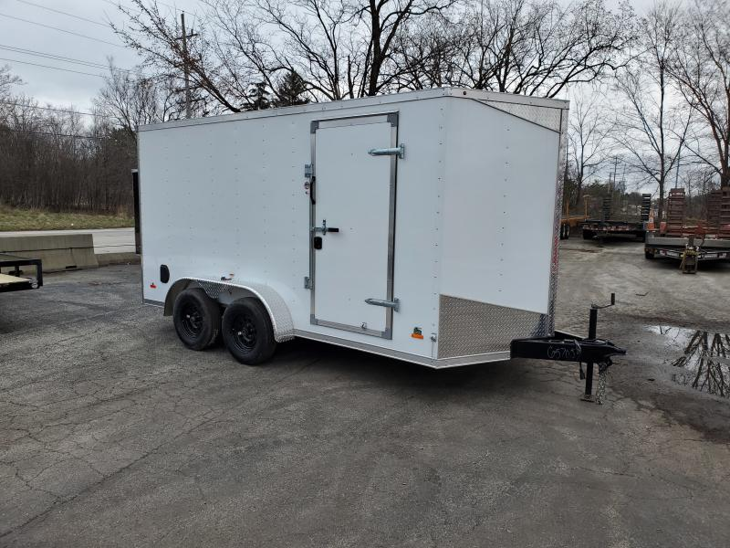 2020 7X14 DELUXE ENCLOSED CARGO TRAILER