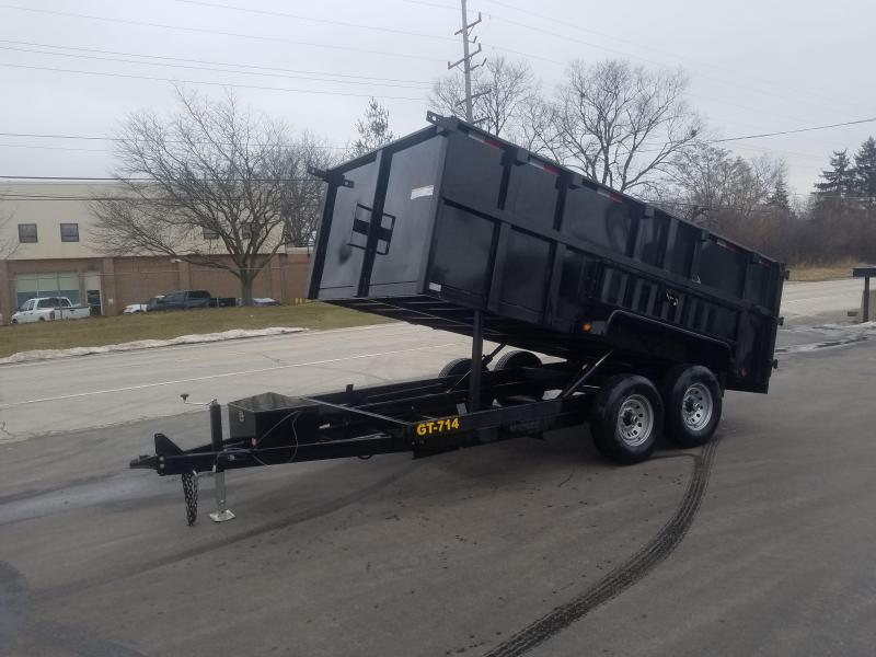 2019 Griffin 14 FOOT DUMP HIGH SIDE Dump Trailer WINTER SPECIAL