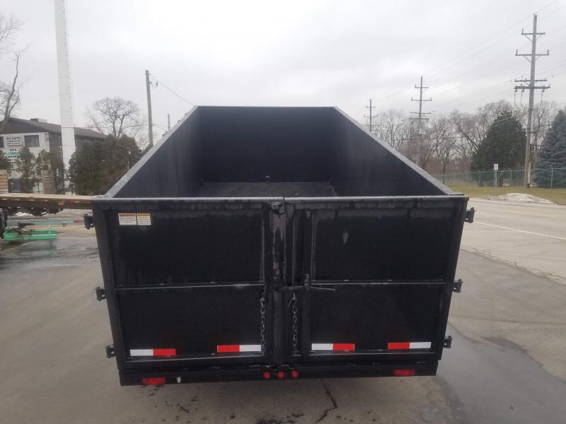 7'X14' HIGH SIDE DUMP TRAILER WINTER SPECIAL