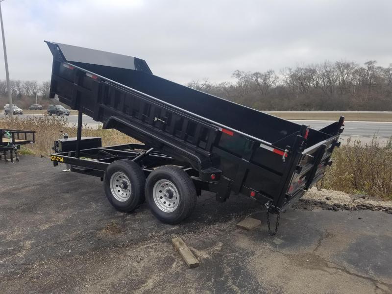 2019 Griffin 14 FOOT DUMP Dump Trailer