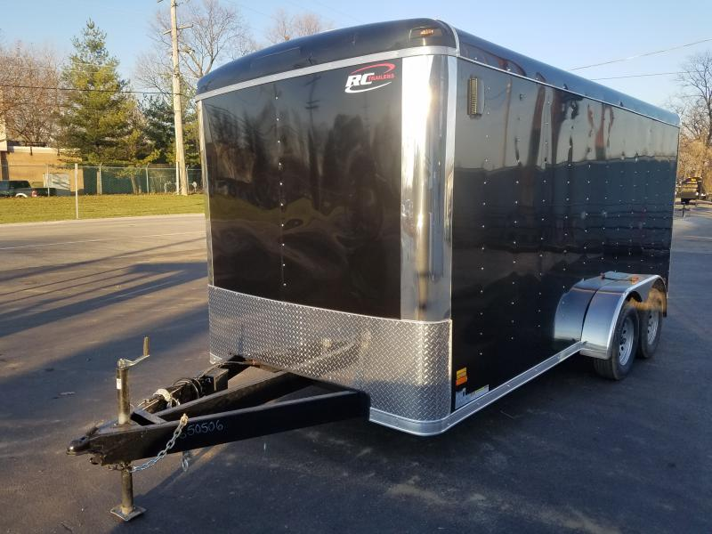 7'X16' ENCLOSED CARGO TRAILER WITH PACKAGE