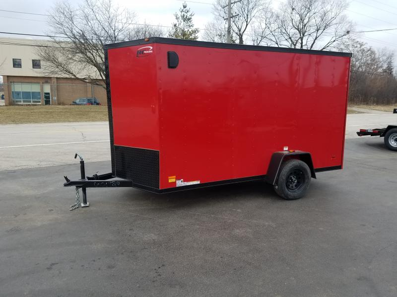 6'X12' CARGO TRAILER WITH BLACKOUT PACKAGE