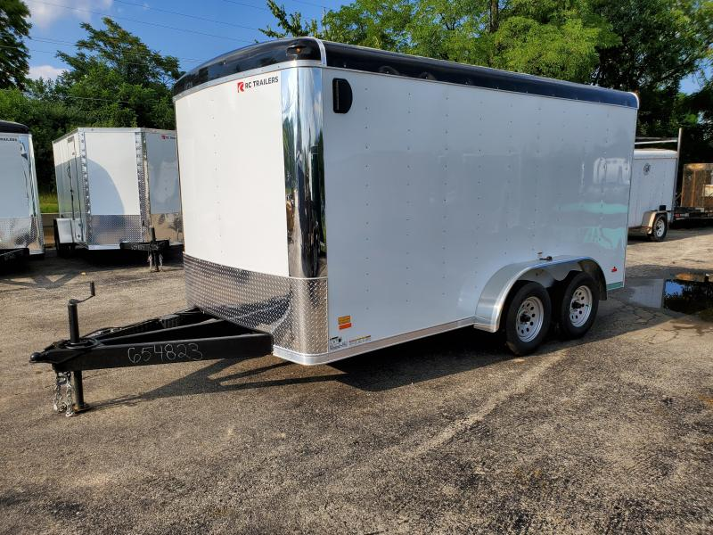7'X14' ENCLOSED CARGO TRAILER WITH PACKAGE