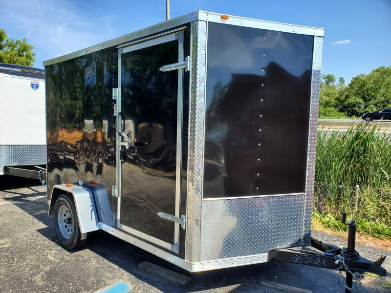 2019 RC Trailers RWT7X10SA Motorcycle Trailer