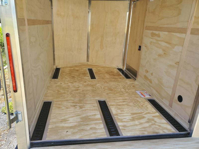 7'X10' TWO PLACE MOTORCYCLE TRAILER