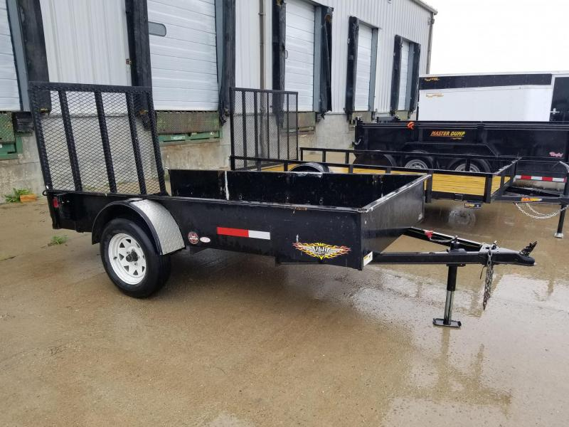 2004 H and H Trailer 60x10 Utility Trailer