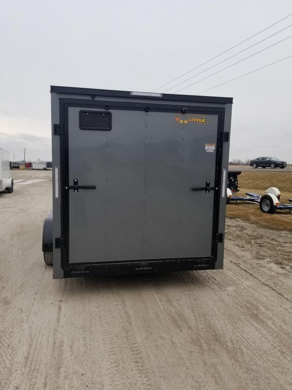 2020 Doolittle Trailer Mfg 7x16 Blacked Out Bullitt Enclosed Cargo Trailer