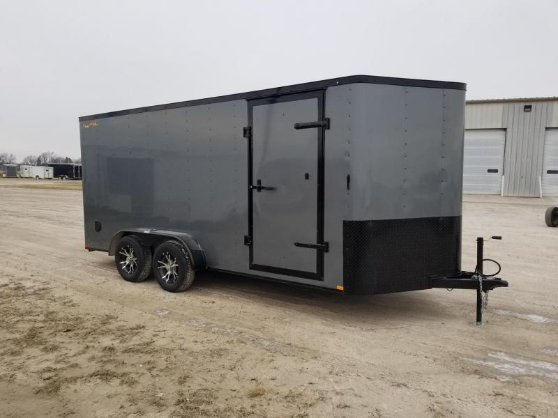2020 Doolittle Trailer Mfg 7x16 Blacked Out Bullitt Enclosed Cargo Trailer