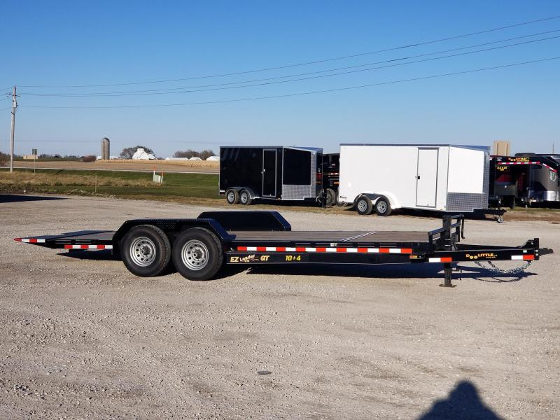 2020 Doolittle Trailer Mfg 22ft 184 EZ Loader GT 14k Tilt Bed Equipment Trailer