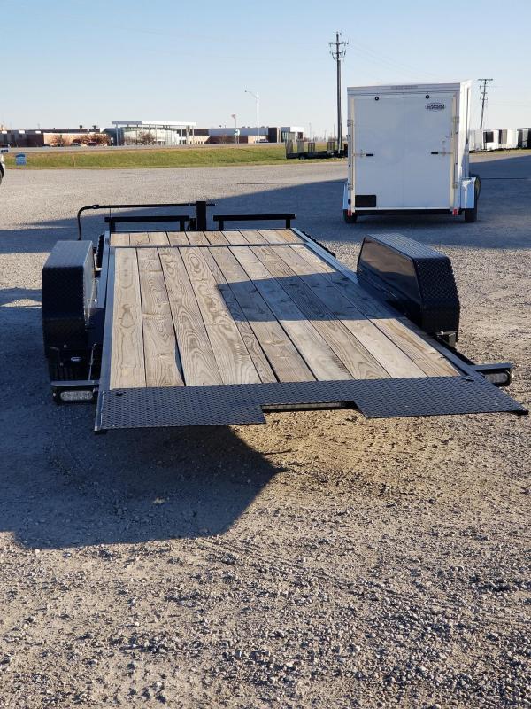 2020 Doolittle Trailer Mfg 22ft 184 EZ Loader GT 14k Tilt Bed Equipment Trailer