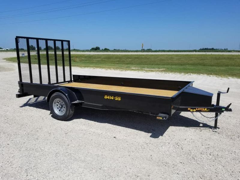 2020 Doolittle Trailer Mfg SS84x14 Utility Trailer