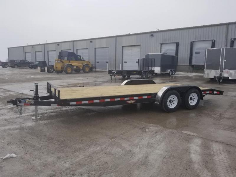 2019 H and H Trailer 82X20 10k Car / Racing Trailer