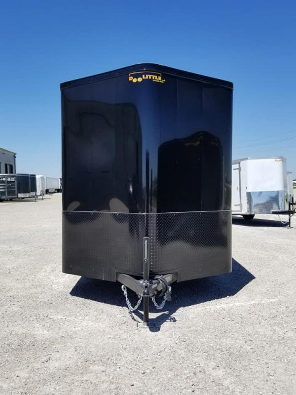 2019 Doolittle Trailer Mfg 7X14 Bullitt Blacked Out Enclosed Cargo Trailer