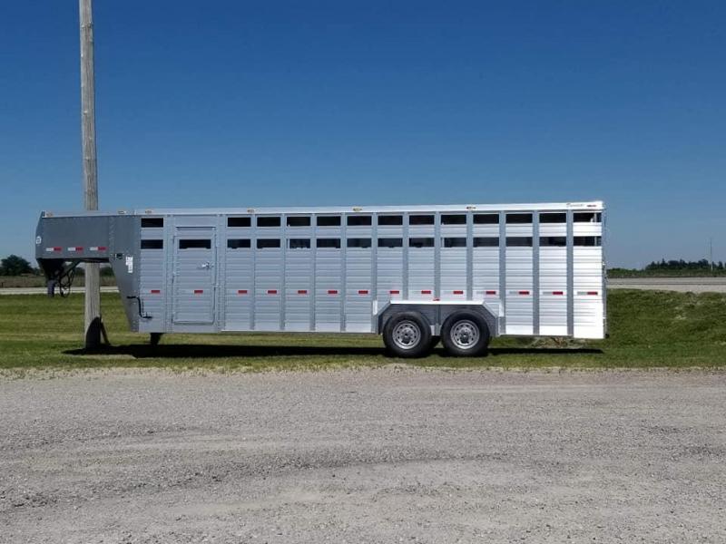 2019 Other Duralite 2500 Series 25ft Gooseneck Livestock Trailer