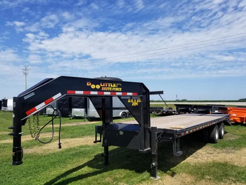 2020 Doolittle Trailer Mfg 102X25 22K Gooseneck Equipment Trailer