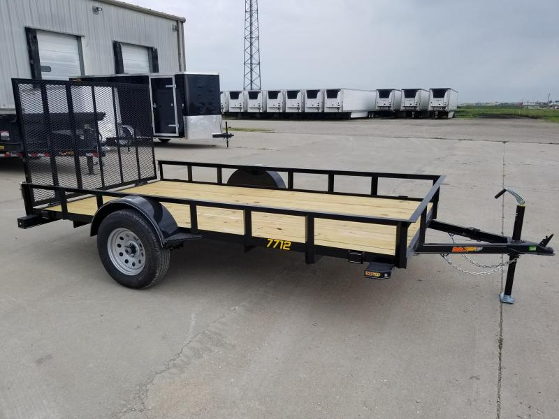 2020 Doolittle Trailer Mfg 77x12 Rally Sport Utility Trailer