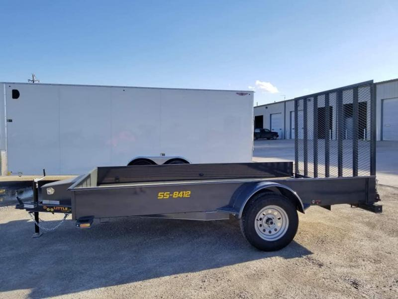 2019 Doolittle Trailer Mfg SS 84X12 Utility Trailer