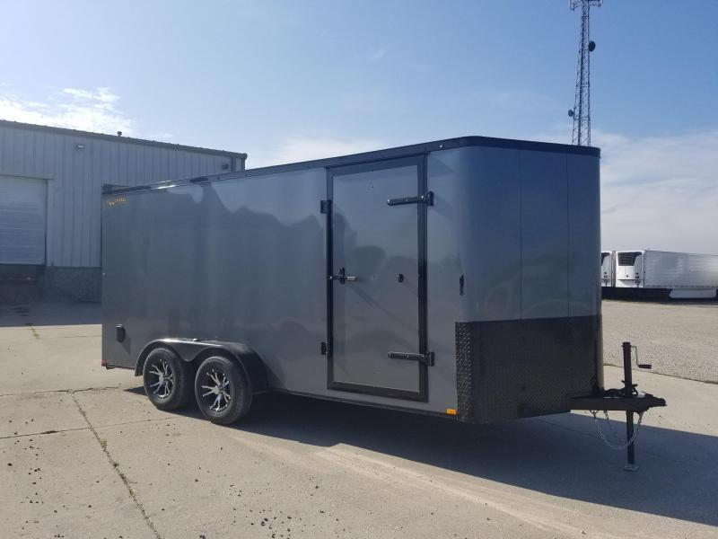 2020 Doolittle Trailer Mfg 7x16 Bullitt Blacked Out Enclosed Cargo Trailer