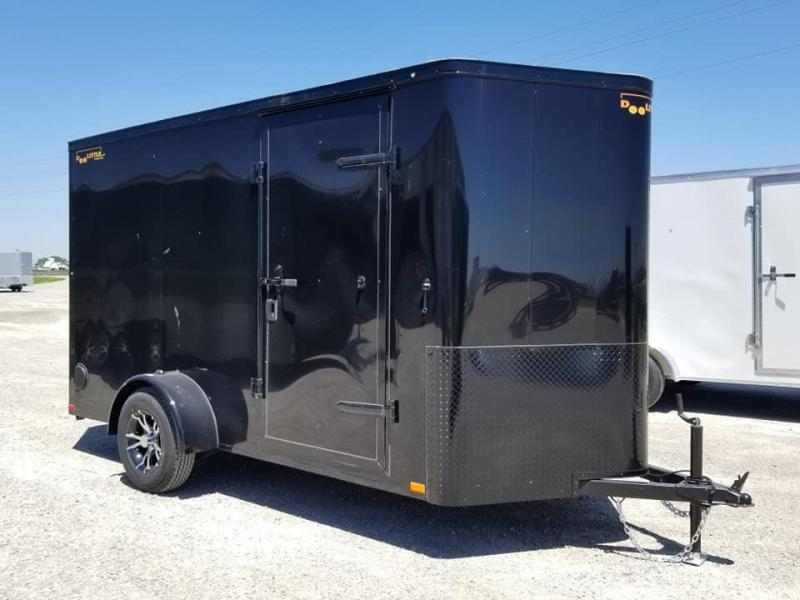 2019 Doolittle Trailer Mfg 6X12 Bullitt Blacked Out Enclosed Cargo Trailer