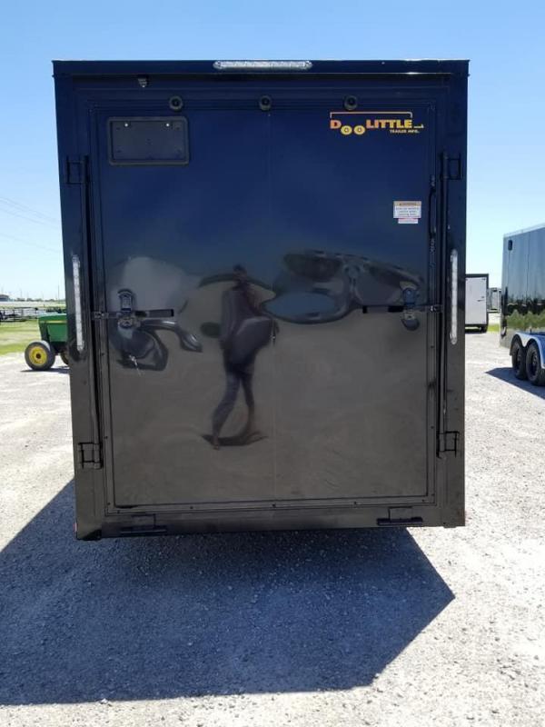2019 Doolittle Trailer Mfg 6X12 Bullitt Blacked Out Enclosed Cargo Trailer