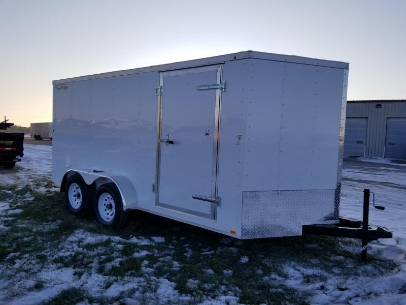 2020 Doolittle Trailer Mfg 7x14 Rally Sport Enclosed Cargo Trailer