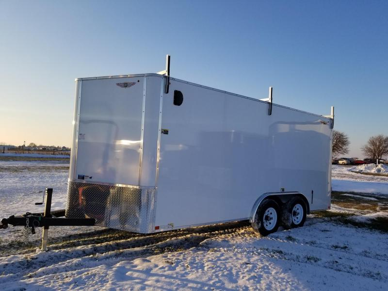 2020 H & H Trailers 8x16 10k Enclosed Cargo Trailer