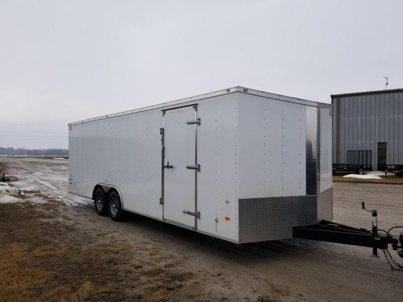 2018 American Hauler 8.5X24 10K Enclosed Cargo Trailer