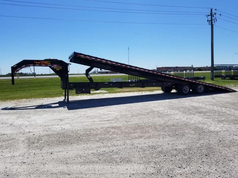 2019 Doolittle Trailer Mfg 102x40 26k Gooseneck Full Tilt Equipment Trailer