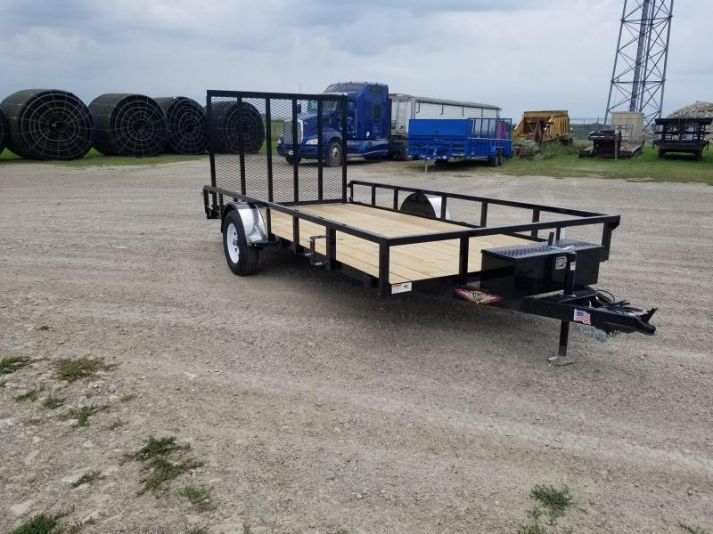 2020 H and H Trailer 82x14 HD Utility Trailer