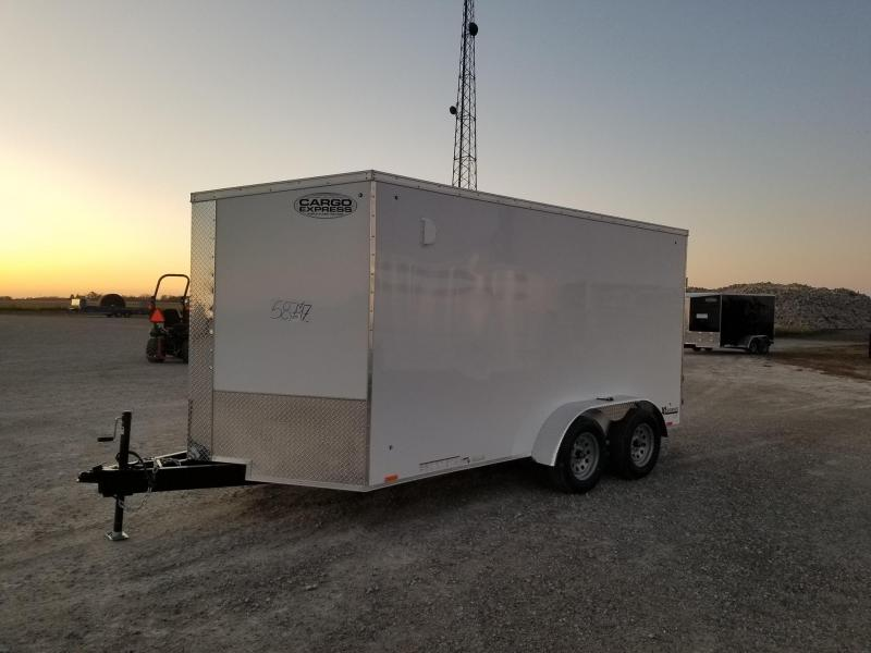2020 Cargo Express XLW SE 7x14 Enclosed Cargo Trailer