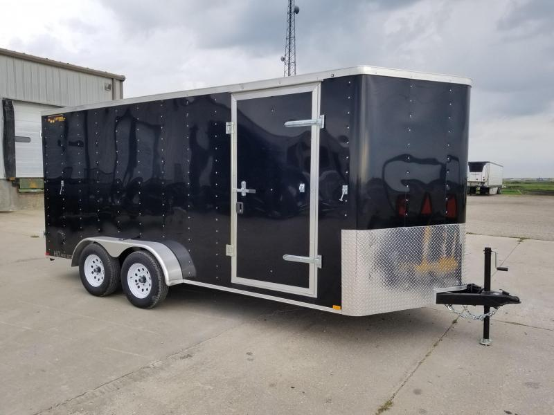 2020 Doolittle Trailer Mfg 7x16 Bullitt Enclosed Cargo Trailer