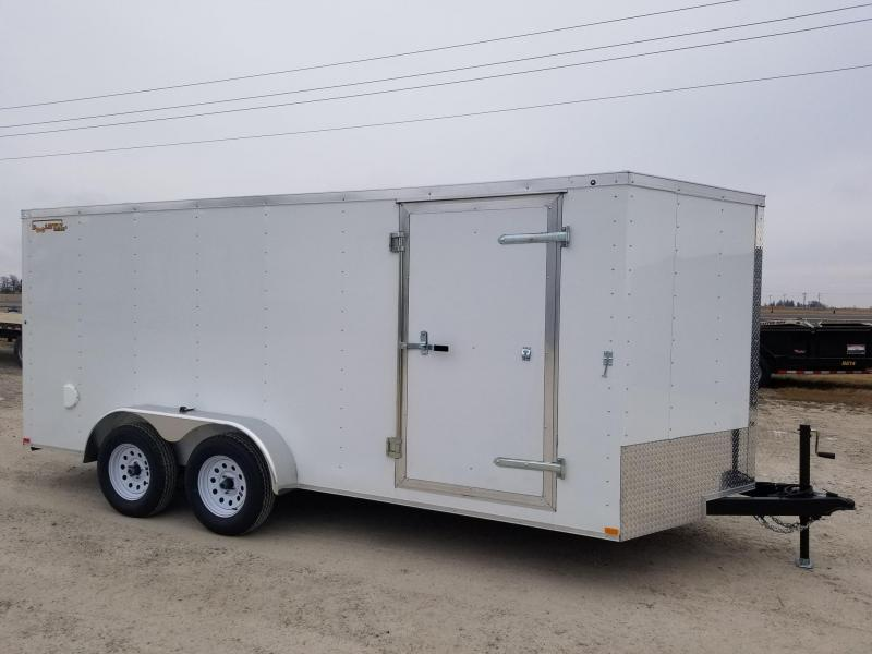 2020 Doolittle Trailer Mfg 7X16 Rally Sport Enclosed Cargo Trailer