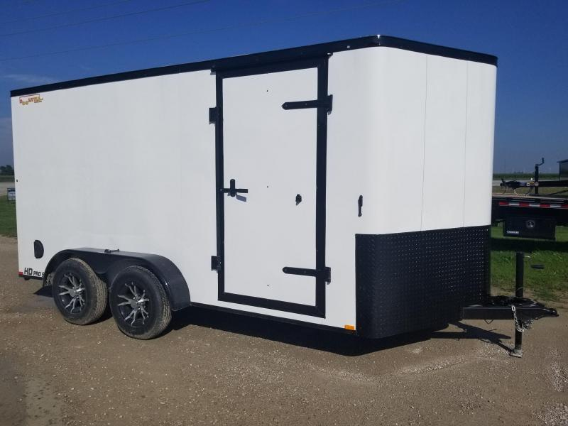 2020 Doolittle Trailer Mfg 7x14 Bullitt Blacked Out Enclosed Cargo Trailer