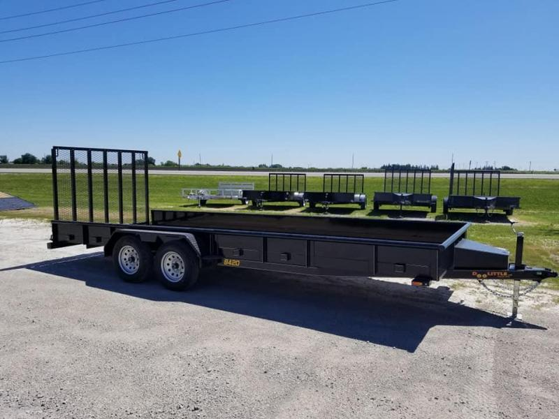 2019 Doolittle Trailer Mfg 84x20 7k Solid Side Utility Trailer