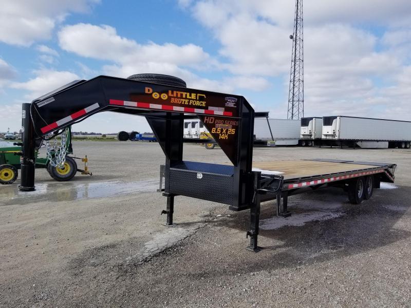 2020 Doolittle Trailer Mfg 102x25 Brute Force 14k Gooseneck Equipment Trailer