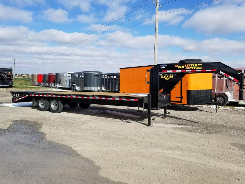 2020 Doolittle Trailer Mfg 102x25 Brute Force 14k Gooseneck Equipment Trailer