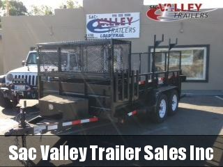 2019 R&J Trailers Inc Custom Landscape Utility Trailer