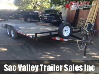 2020 R and J Trailers Inc 102x17E-Deck Over 7K Equipment Trailer