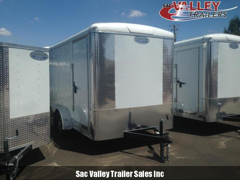2020 Continental Cargo OSTW712TA2 Enclosed Cargo Trailer