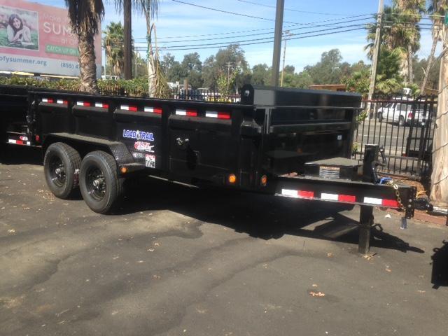 "2020 Load Trail 83"" X 14' Tandem Axle Dump Dump Trailer"
