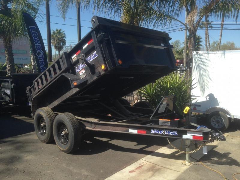 """2020 Load Trail 83"""" X 10' Tandem Axle Dump Trailer"""
