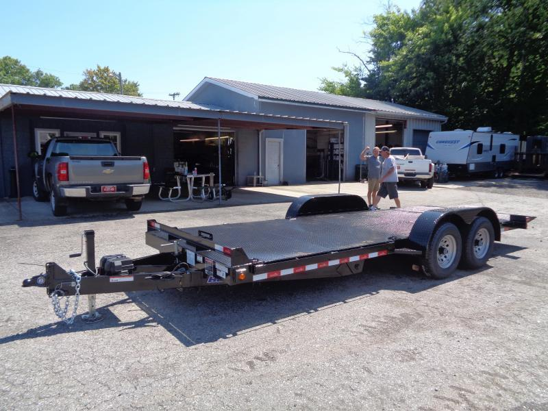 2020 Hawke Trailers 20' 12K GVWR Standard Power Tilt Equipment Trailer