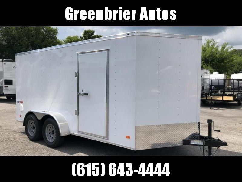 2019 Bravo Trailers 7 x 14 Enclosed Cargo Trailer w/ Ramp Door