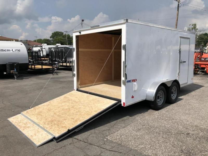 2019 Bravo Trailers 7 x 14 Enclosed Cargo Trailer w/ Ramp Door