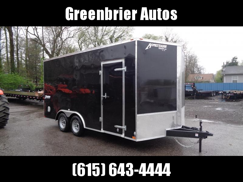 2020 Homesteader Intrepid 8.5' x 16' x 7' Enclosed Cargo Trailer