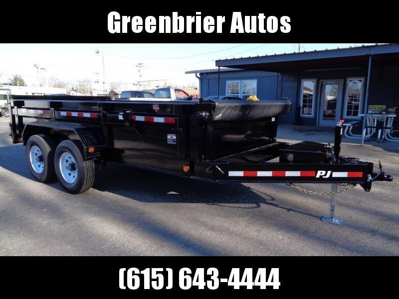 "2020 PJ Trailers 14' x 83"" Low Pro Dump (DL)"
