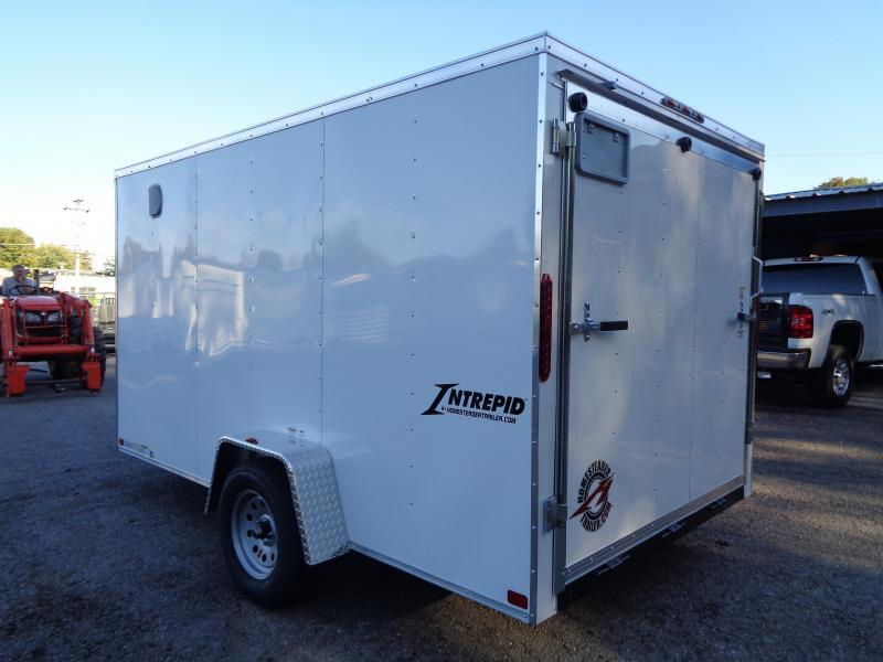 2020 Homesteader Intrepid 7 x 12 x 6 Enclosed Cargo Trailer